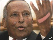 Somalia's President Abdullahi Yusuf Ahmed