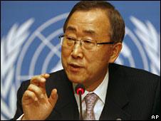 Ban Ki-moon (file image)