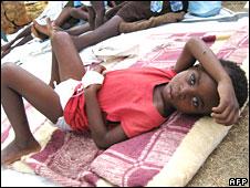 Zimbabwe cholera victim