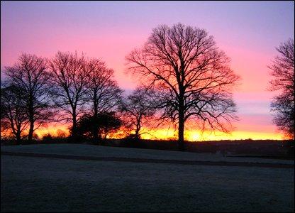 Belfast sunrise