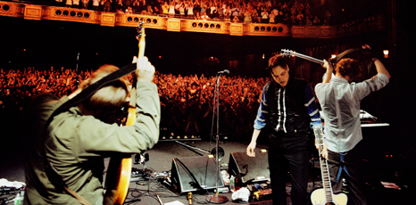 Bbc newsbeat music arcade fire turn home movies into for Arcade fire miroir noir dvd