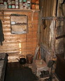 shackletons hut interior