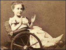 Nellie Wallace.Pic:The Museum & Archive, Great Ormond Street Hospital for Children