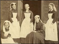 Nurses: Pic:The Museum & Archive, Great Ormond Street Hospital for Children