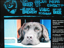 BrewDog website