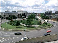 Slough roundabout