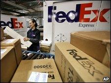 Fedex worker in New York
