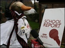 The Horley Duck as a School Reporter