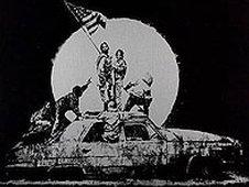 Flag by Bansky
