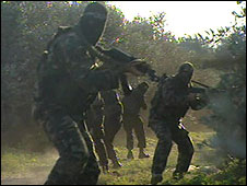 PRC militants train in Gaza (Dec 2008)