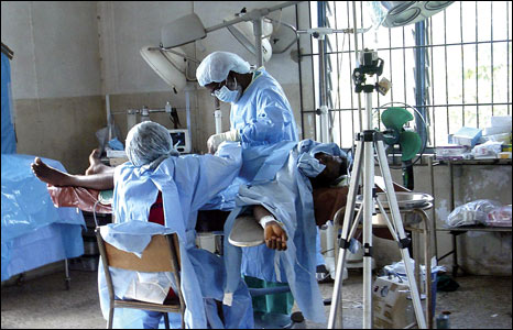 A hospital in Nigeria