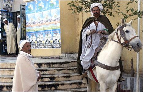 Two Algerian men