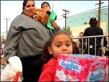 US families in need receive food staples