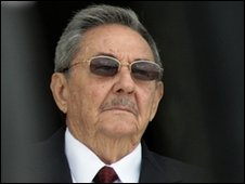 Cuban President Raul Castro