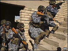 Iraqi security forces in training - 11 December 2008