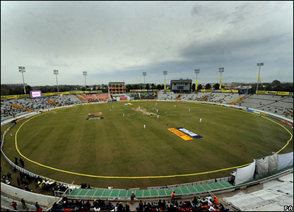 A general view of the Punjab Cricket Association Stadium, Mohali