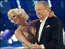 John Sergeant and his dancing partner  Kristina Rihanoff