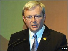 Kevin Rudd in Bali, 10th Dec