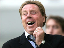 Redknapp had a right old giraffe in 2008