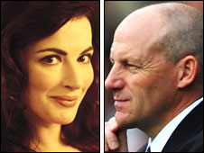 Nigella Lawson and Steve Coppell