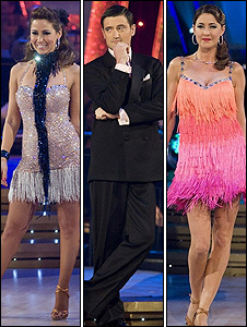 Rachel Stevens, Tom Chambers and Lisa Snowdon