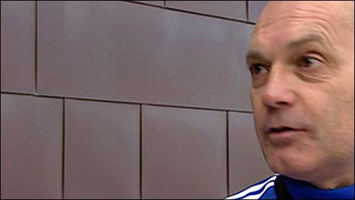 Chelsea assistant coach Ray Wilkins