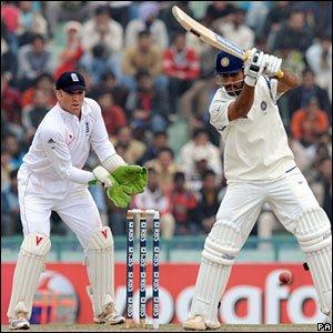 India captain Mahendra Dhoni hits out