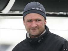 Yachtsman Yann Elies
