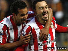 Kieran Richardson (left) and Steed Malbranque