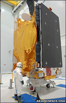 Hot Bird satellite (Arianespace/Esa)