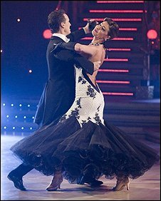 Lisa Snowdon and Brendan Cole