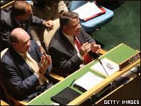 Голосование в ООН за резолюцию о снятии эмбарго