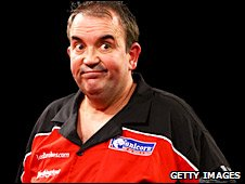 World number one Phil Taylor