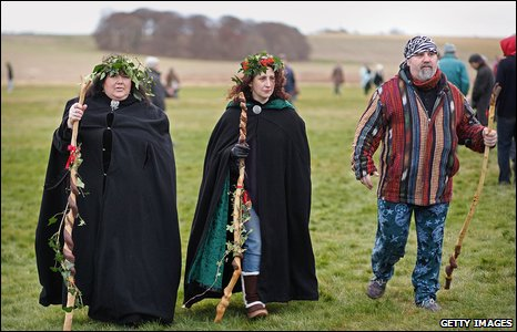 Pagans and druids celebrate Solstice