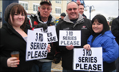 Fans lobbying for a Gavin and Stacey new series in Barry Island
