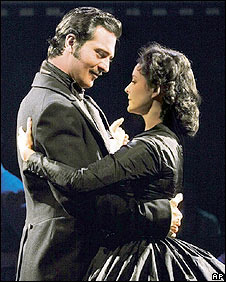 Darius Danesh and Jill Paice in Gone With The Wind