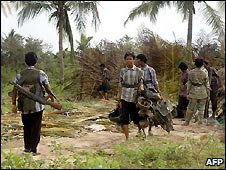 Tamil Tiger rebels - 12/12/2008