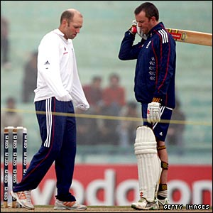 Matt Prior and Graeme Swann