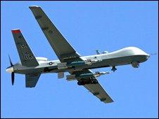 US drone (file image)