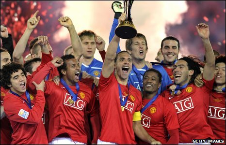 Manchester United lift the Club World Cup