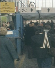 Belfast search control 1978