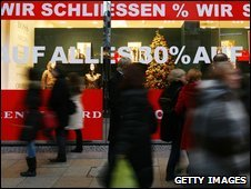German shoppers