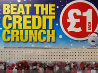 Credit crunch sale