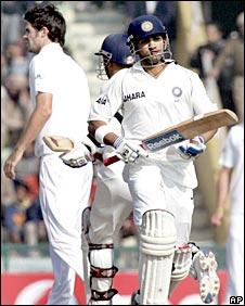 Gautam Gambhir and James Anderson