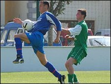Guernsey v Jersey in the NLS Cup