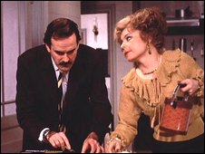 Basil and Sybil Fawlty