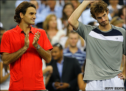Roger Federer and Andy Murray