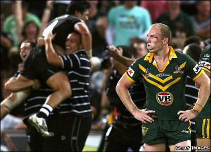 Australia v New Zealand - Australia's Darren Lockyer pictured