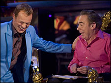 Graham Norton and Andrew Lloyd Webber