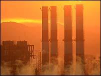 انبعاث الغازات الضارة